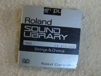 I have a Roland S-10 Sound Library sample disk for the