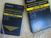 I have a set of three Roland U-110 cards for your R8