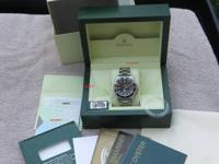 For sale: Rolex 14060M NO DATE SUBMARINER -- 2 LINE