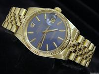 100% genuine Rolex w/rare lavender dial- warranty This