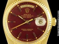 This is a Rolex Date for sale by Robert Maron Inc. The