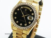 RARE MINT CONDITION Rolex 18348 18K yellow gold
