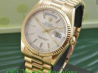 Rolex 18K Yellow Gold Day-Date President, Reference