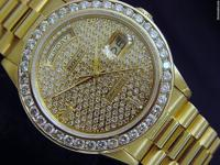 Genuine Rolex  5.25ct Diamonds  100% Lifetime Trade-Up