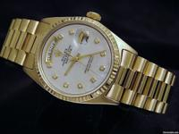Detailed Description Genuine Rolex w/mop diamond dial