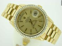 Detailed Description GENUINE ROLEX - QUICKSET MODEL