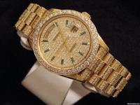 Genuine Rolex  9.00ct Diamonds  100% Lifetime Trade-Up