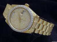 Genuine Rolex  8.00ct Diamonds  100% Lifetime Trade-Up