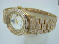 Genuine Rolex  11.50ct Diamonds  100% Lifetime Trade-Up