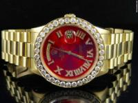 100% Genuine Pre-Owned Rolex Presidential Model with