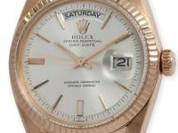 Rolex 18k rose gold Day-Date President, Ref. 1803,