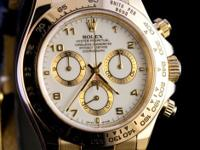 Pre-owned Rolex 18k Yellow Gold Daytona 116518 Y serial