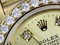 100% GENUINE ROLEX WITH DIAMONDS LADIES Presidential