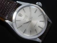 Nice mans or ladies Rolex Oyster Speedking Precision