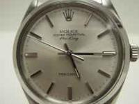 This is a 1987.5 Rolex Air King with Oyster movement.