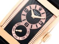 Gents Rolex Cellini Prince in 18k rose gold on a