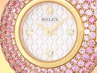 factory rolex mother-of-pearl dial with diamond