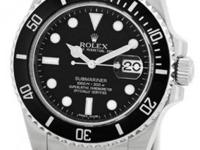 "New Style Gent's Stainless Steel Rolex ""Ceramic"