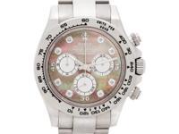 Rolex Daytona Cosmograph with original MOP diamond dial