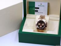 Rolex Cosmograph Daytona 116505 Black Index Pink