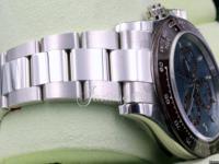 Rolex Cosmograph Daytona 116506 Ice Blue Index Chestnut