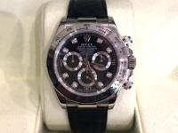 This is a Rolex, Daytona for sale by Greis Jewelers.