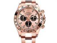 116505 ch Rolex This watch has 40.00 mm 18K Rose gold