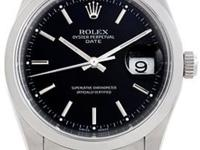 Case: Original Rolex no holes stainless steel oyster