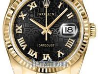 Rolex 116238 Jubilee Black Roman Jubilee Complete