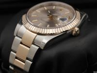 Rolex Datejust 41, Steel & Rose Gold, Sundust Index
