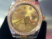 Retail price : $ 19,700 Rolex Datejust 36mm Watches.