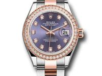 279381RBR audo Rolex This Ladies watch has 28mm Everose