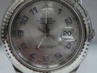 This is a Rolex, Datejust II 116334 SS Unworn with