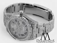 Rolex Datejust II Stainless Steel Completely Diamond