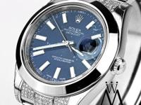 ROLEX DATEJUST II Blue Dial 41MM AUTOMATIC WATCH WITH