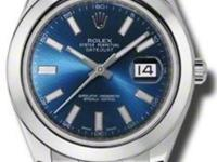 Rolex Datejust II Blue Dial Stainless Steel Automatic