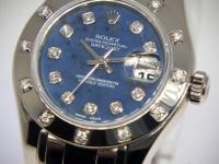 Rolex Datejust Masterpiece Pearlmaster 18k Gold