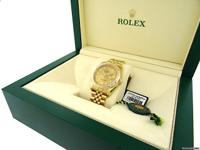 Never worn & complete. Rolex personalized this watch