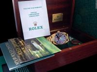 The Rolex Day Date was released to serve as the elegant