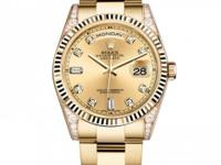 118338 chdo Rolex This watch has 36.00 mm 18K Yellow