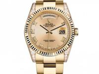 118338 chro Rolex This watch has 36.00 mm 18K Yellow