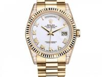 118338 wrp Rolex This watch has 36.00 mm 18K Yellow