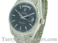 Gents New style Rolex 18K White gold, Day - Date