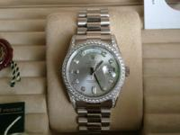 Rolex day date ref 118389 factory all factory diamond