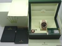 Up for sale is a super hot Rolex Day-Date II 41mm in