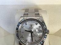 This is a Rolex, Day-Date II for sale by Jahan Diamond