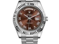 218239 brrp Rolex This watch has 41.00 mm 18K White