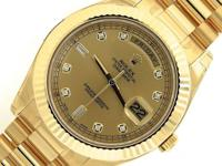 NEW Rolex Day-Date II President 18K Yellow Gold