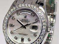 Rolex Day-Date Masterpiece Platinum u0026amp; Diamond