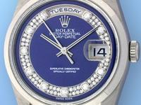 factory rolex blue myriad outer track diamond pav dial